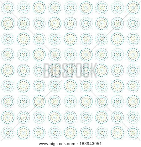 vector seamless pattern circles, simple geographic shapes Abstract background