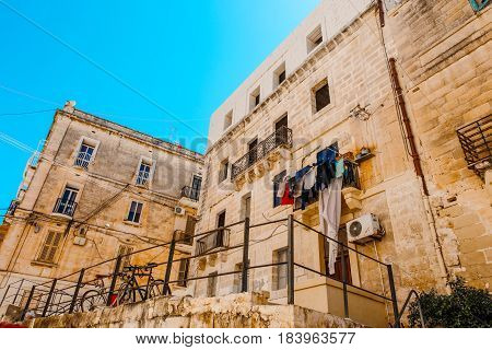 Mediterranean houses at St Julians architecture Malta