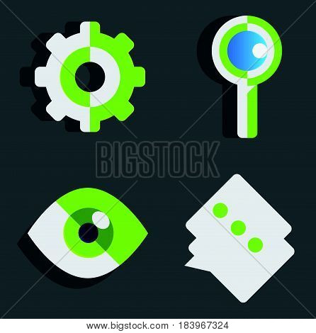 Set of flat icon design Use Personal & Business Finance