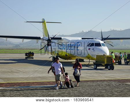 Francisco B. Reyes Airport In Coron, Philippines