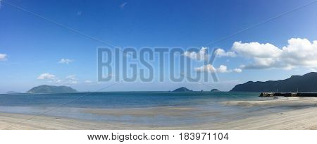 Seascape Of Con Dao Island In Southern Vietnam