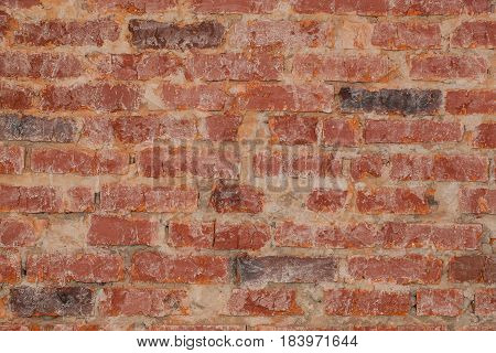 Wall brick vintage texture for grunge background