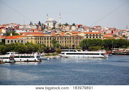Kadir Has University And Yavus Sultan Selim Mosque, Istanbul