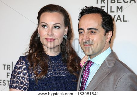 NEW YORK, NY - APRIL 26: Amir Talai with guest attends 'The Circle' premiere during the 2017 Tribeca Film Festival at BMCC Tribeca PAC on April 26, 2017 in New York City.