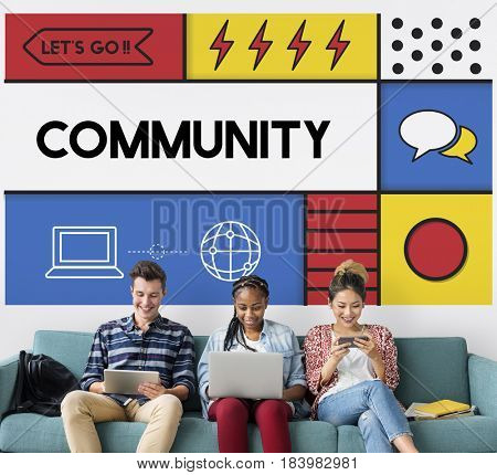 Community Communication Interaction Togetherness Concept