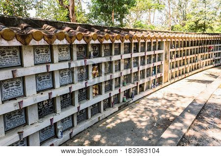 Nha Trang cemetery. This cemetery for people who died during war between Vietnam and USA