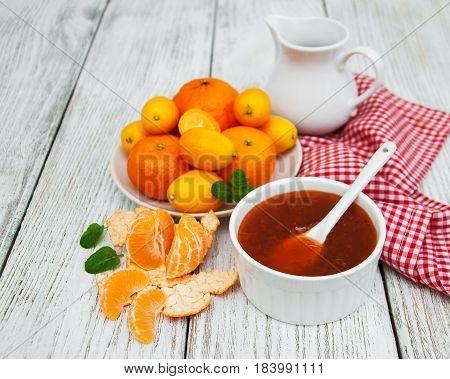 Delicious Mandarine  Jam