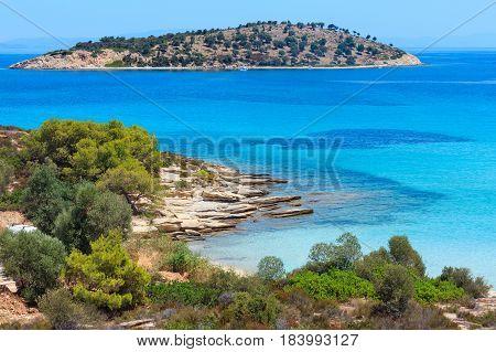Lagonisi Beach, Sithonia, Chalkidiki.