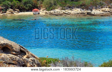 Boat Near Shore.