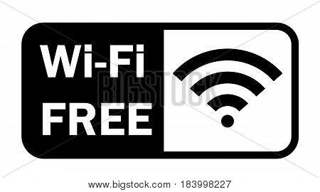 Wifi wireless internet signal flat icon app