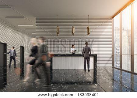 Gray Reception, People