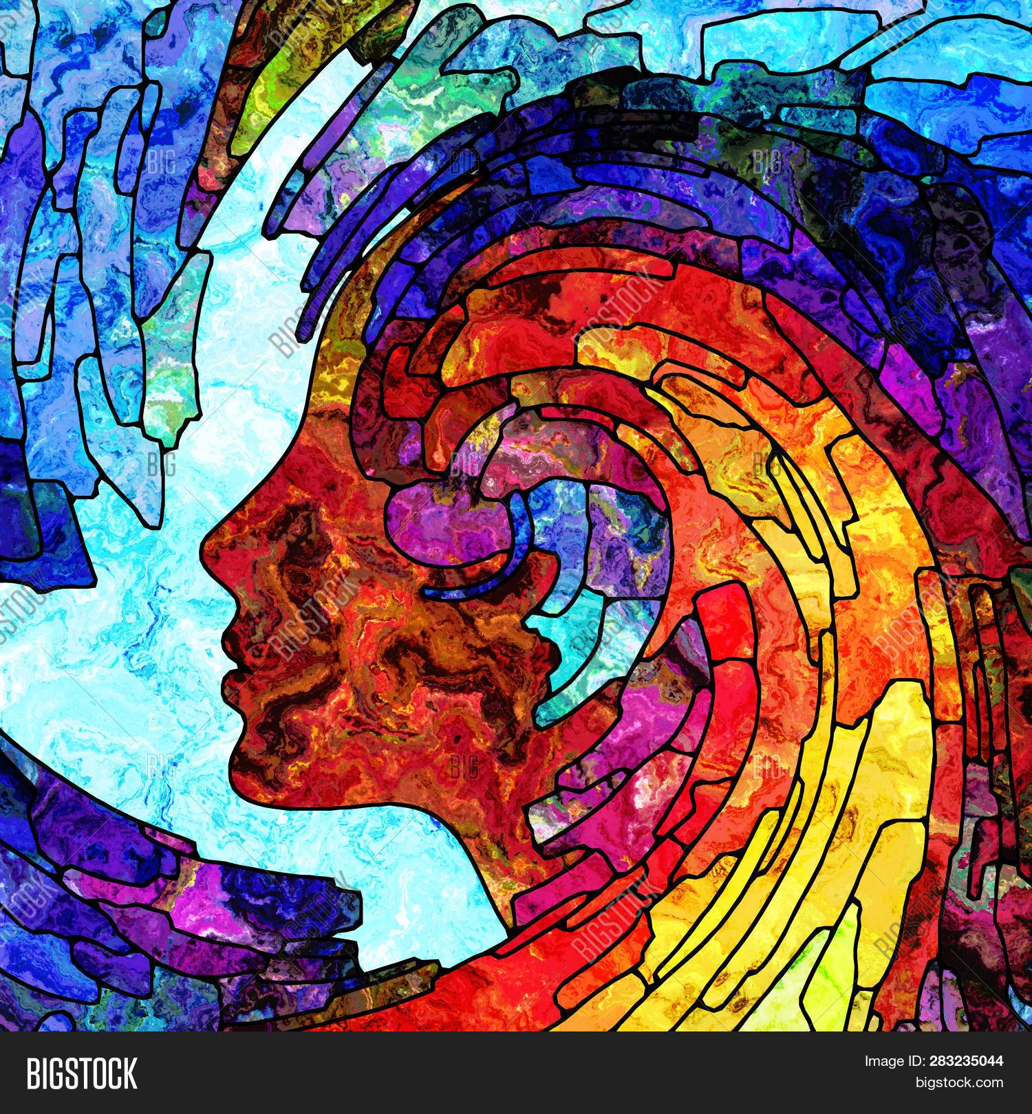 Art Nouveau 3d Graphic Design
