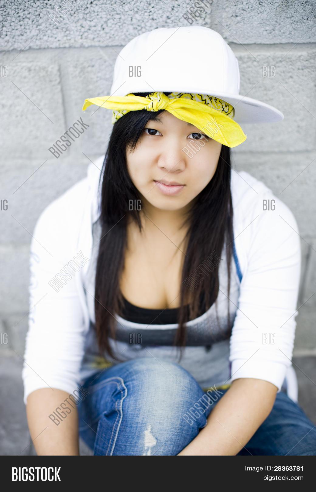 Beautiful Asian Girl Portrait Hip Image  Photo  Bigstock-8328
