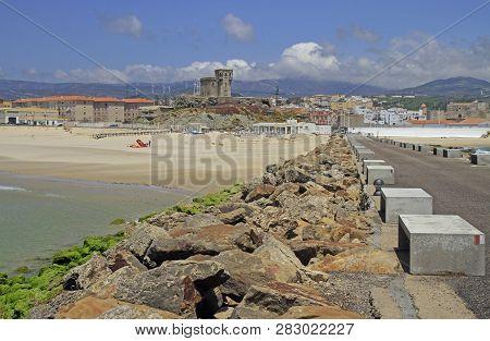 Scenery Landscape Of Seaside In Spanish City Tarifa