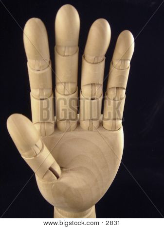 Wood Hand 1