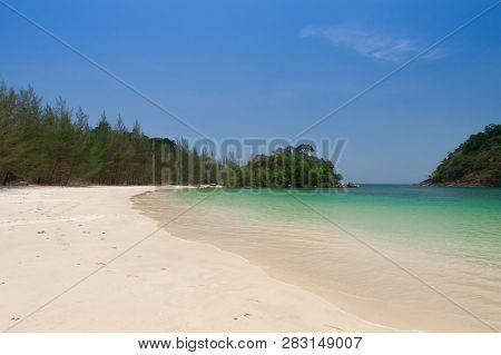 Beautiful Sea And Blue Sky At Andaman Sea,thailand