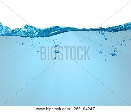 Underwater split frame