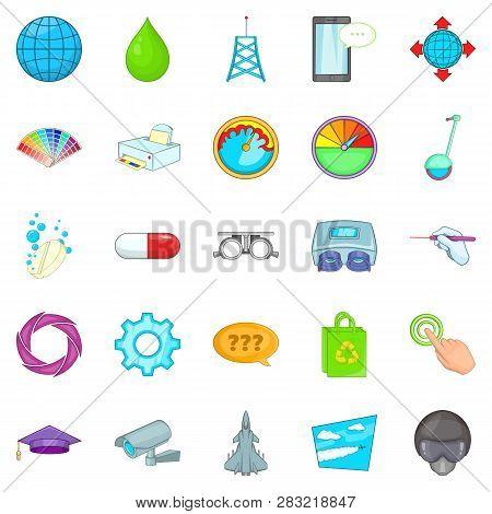 Undertaking Icons Set. Cartoon Set Of 25 Undertaking Icons For Web Isolated On White Background