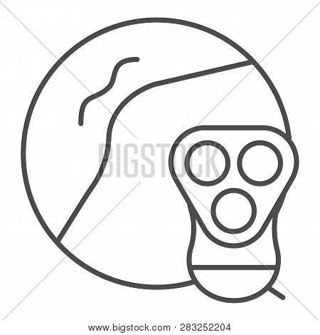 Armpit Epilation Thin Line Icon. Armpit Shaving Vector Illustration Isolated On White. Razor Epilati