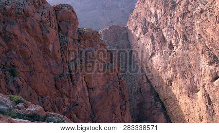 Todgha Gorge, A Canyon In The High Atlas Mountains In Morocco..