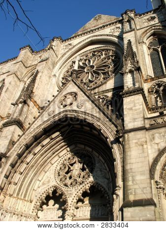 St John The Divine Cathedral Facade, New York City