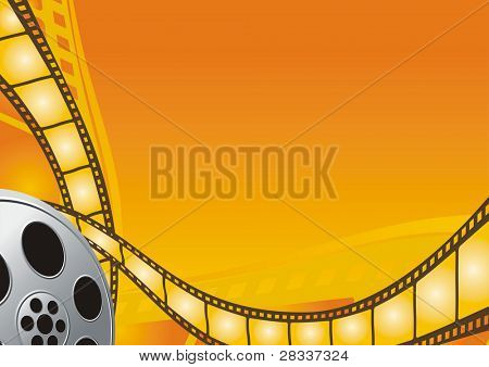 Cinema theme background
