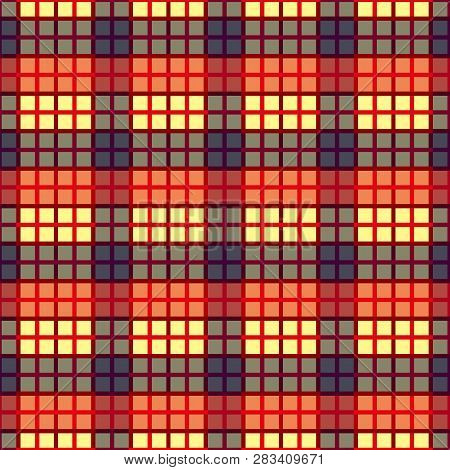 image about Lite Brite Free Printable Patterns named Seamless Tartan Plaid Vector Image (Absolutely free Demo) Bigstock