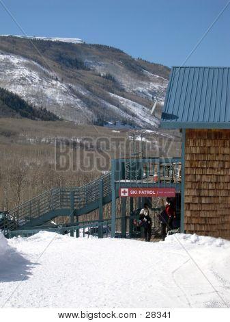 Ski Patrol Shack