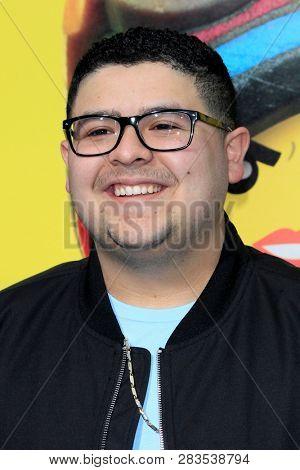 LOS ANGELES - FEB 2:  Rico Rodriguez at