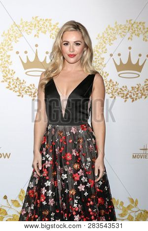 LOS ANGELES - FEB 9:  Natalie Hall at the Hallmark Winter 2019 TCA Event at the Tournament House on February 9, 2019 in Pasadena, CA