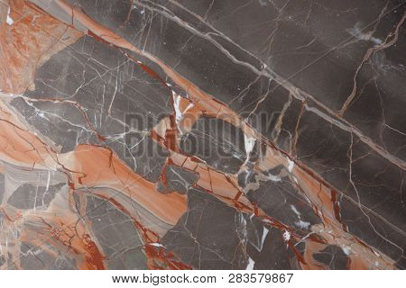 Marble With Pink And Red Veins, Called Caravaggio