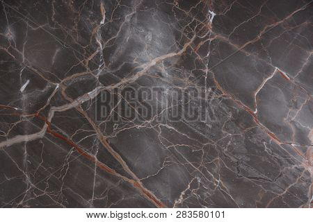 Brown Marble With Pink And Red Veins, Called Caravaggio