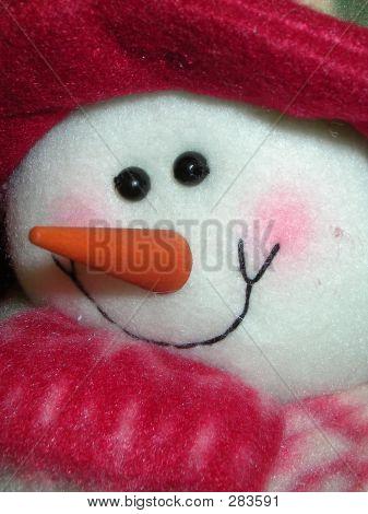 Snowman Close-up
