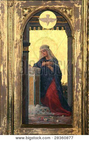 The Annunciation - Virgin Mary