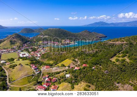 Iles des Saintes. French Guadeloupe. Caribean island. West Indies.