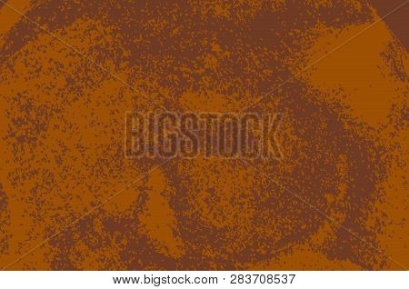 Rust Textured Surface. Old Grunge Rustic Metal Texture Use For Background