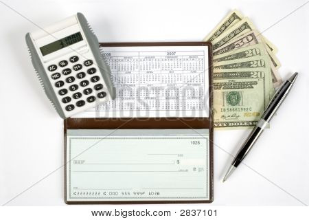 Open Checkbook With Extras