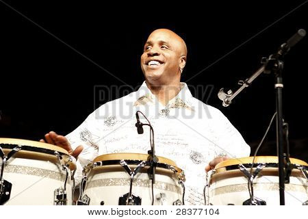 SANTA YNEZ, CA - MAY 30: Barry Bonds at 'Rhythm on the Vine' charity event to benefit Shriners Children Hospital at the Gainey Vineyard May 30, 2009 in Santa Ynez, California