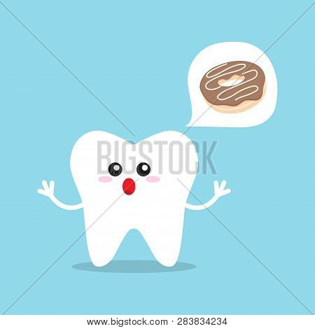 Causes Of Caries. Factors And Causes Provoking Caries And Teeth Decay. Tooth Protection Vector Illus