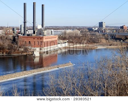Old Factory on River