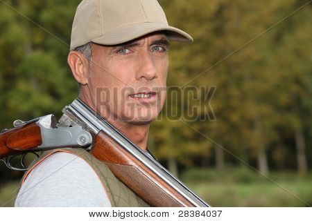 hunter in the country