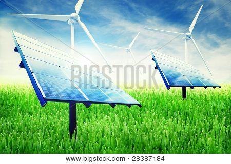 Green Energy Installation
