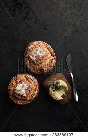 artisan bread buns