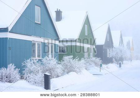 Vinter hus