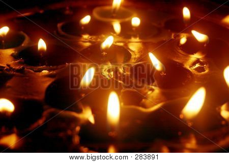 Golden Candle Light