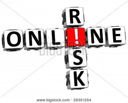 3D Online Risk Crossword