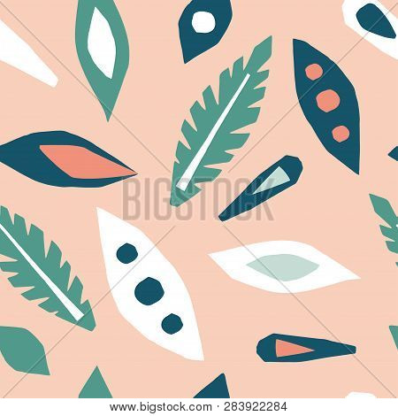 Cutout Leaves Vector Photo Free Trial Bigstock