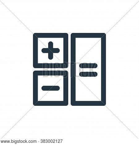 budget icon isolated on white background from user interface collection. budget icon trendy and mode