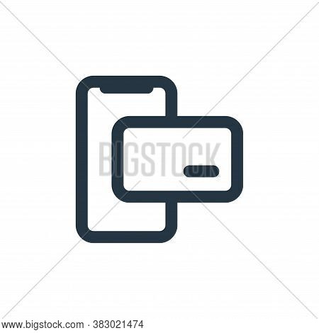 payment icon isolated on white background from ecommerce ui collection. payment icon trendy and mode