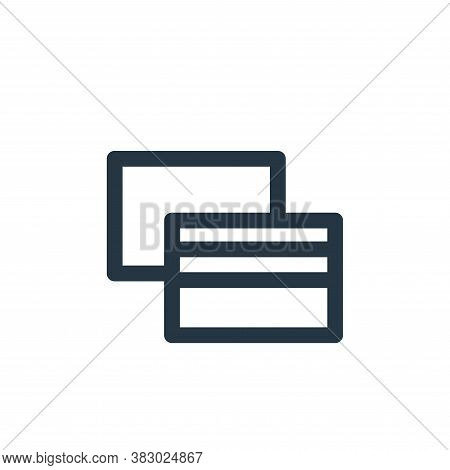 payment icon isolated on white background from user interface collection. payment icon trendy and mo